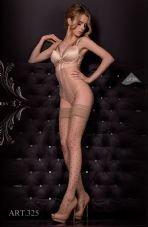 Ballerina 325 Hold Ups Nero(Black)/Skin